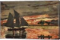 Sunset Fires Fine-Art Print