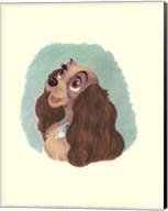 Lady Cameo Fine-Art Print