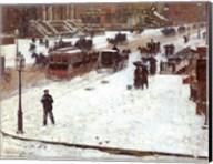 Fifth Avenue in Winter Fine-Art Print