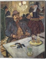 M. Boileau au Cafe Fine-Art Print