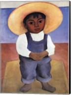 Retrato De Ignacio Sanchez Fine-Art Print