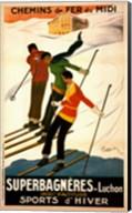 Superbagneres-Luchon, Sports d'Hiver Fine-Art Print