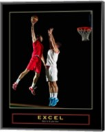 Excel - Basketball Fine-Art Print