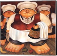 Three Chefs Fine-Art Print
