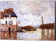 Flooding At Port-Marly Fine-Art Print
