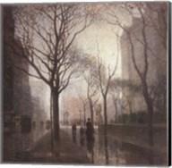 Plaza After the Rain Fine-Art Print