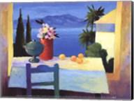 Fenetres de St. Tropez Fine-Art Print