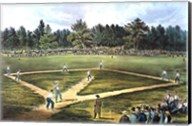 National Game of Baseball Fine-Art Print