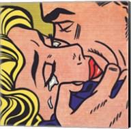 Kiss V, 1964 Fine-Art Print