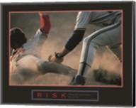 Risk-Baseball Fine-Art Print