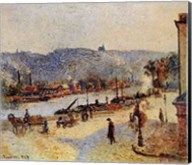 Quays At Rouen Fine-Art Print