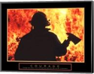 One Fireman Fine-Art Print