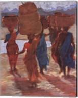 Leaving Godspur Market Fine-Art Print