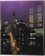 Purple Skies - W.T.C. Fine-Art Print