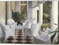 White Summer Terrace Fine-Art Print
