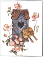 Birdhouse with Yellow Throats Fine-Art Print