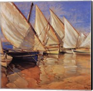White Sails I Fine-Art Print
