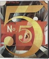Figure Five in Gold Fine-Art Print