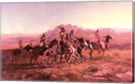 Sun River War Party Fine-Art Print