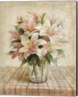 Cottage Lilies in Pink Fine-Art Print