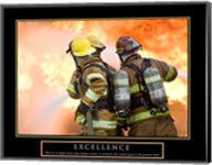 Excellence - Three Firemen Fine-Art Print