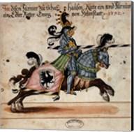 Knight With Black Javelin Fine-Art Print