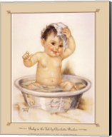 Baby In The Tub Fine-Art Print