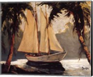 Sailboat, Santa Barbara Fine-Art Print