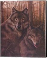 Wolves Pair Fine-Art Print