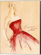 Red Dress I Fine-Art Print
