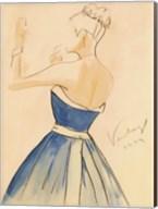 Blue Dress II Fine-Art Print