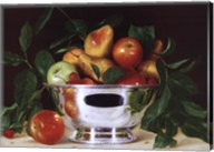 Fruit In a Bowl Of Silver Fine-Art Print