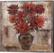 Dahlia's In Bronze Vase Fine-Art Print