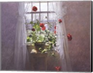 Red Geraniums (Small) Fine-Art Print