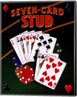 Seven Card Stud Fine-Art Print
