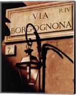 Via Borgognona Fine-Art Print