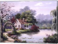 Arbor Cottage Fine-Art Print