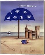 Sandcastles By The Sea Fine-Art Print