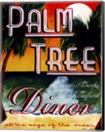 Palm Tree Diner Fine-Art Print