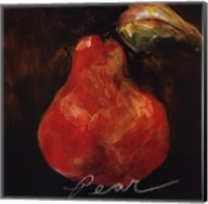 Red Pear Fine-Art Print