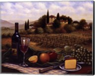 Terrace At Chianti Fine-Art Print