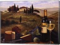 Terrace At Vitiano Fine-Art Print