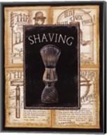 Grooming Shaving Fine-Art Print