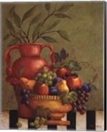 Fresco Fruit I - Mini Fine-Art Print