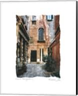 Venice Courtyard Fine-Art Print