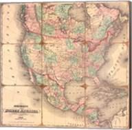 American Republic,1842A Fine-Art Print