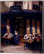Bookworm Bonanza, Paris Fine-Art Print