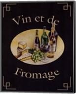 Vin Et De Fromage Fine-Art Print