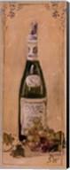 White Wine With Grapes Fine-Art Print