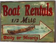 Boat Rentals Fine-Art Print